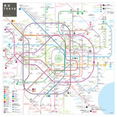INAT is a mapping standard offering easy to read, easy to memorize and easy to use subway network maps.