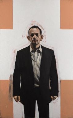 """Stephen Conroy, """"The nman you never knew"""" 2010, oil on canvas, 172.7 x 106.7cm"""