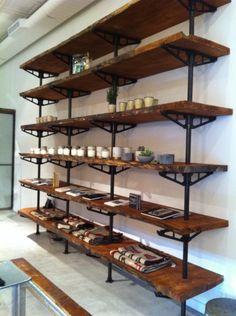 @Love Adorned shelving units by Robert Ogden