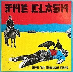 Vintage Vinyl - The Clash - Give 'Em Enough Rope - 1978