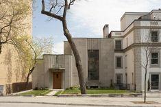 Canadian Art deco: Ernest-Cormier's house, Mount-Royal, Montréal, Canada. 1922.