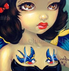 Faces of Faery #105 - Strangeling: The Art of Jasmine Becket-Griffith