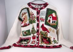 Ugly-Christmas-Sweater-Party-Womens-Petite-Large-By-Tiara-Petite