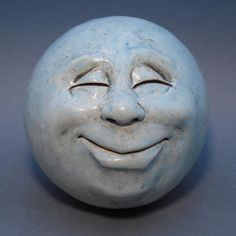 Hey, I found this really awesome Etsy listing at https://www.etsy.com/listing/211750815/man-in-the-moon-garden-head-waxy-pale