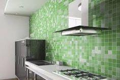 Risultati immagini per piastrelle cucina verdi