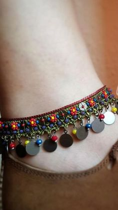 Anklets, Crochet, Bracelets, Leather, Jewelry, Fashion, Stud Earrings, Jewels, Tejidos