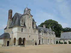 Château de la Vallière à Reugny - région centre