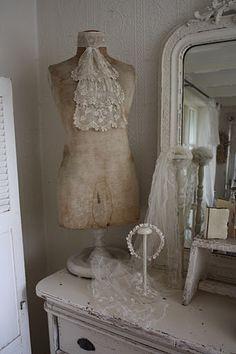 dress form on dresser