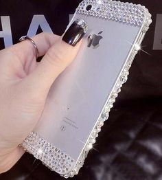 Clear crystal iPhone 6 case Bling iPhone 6 by AnneDesignCenter