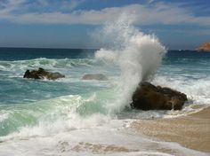 Strand von El Tule, Cabo San Lucas – Kimberly Chochon – Join the world of pin Ocean Scenes, Beach Scenes, Ocean Photography, Landscape Photography, Seascape Paintings, Landscape Paintings, Ocean Pictures, Ocean Wallpaper, Sea Photo