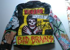 Painted-punk-rock-leather-jacket-studded-vintage-exploited-uk82-rancid-grunge