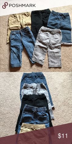 Boys pants lot Circo and 1 Koala kid boys pants lot. 5 total pairs💥if interested in multiple kid items please bundle then make me an offer, to help only have 1 shipping cost💥. Ready to get rid of these kids clothes!!! Bottoms Casual