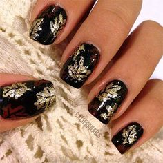 fall nail art nailed it pinterest