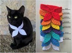 Scarf for Cat Pet Scarf Cat Accessories Kitten Outfit Gift for Cat Lover Cat Scarf Crochet Dog Clothes, Pet Clothes, Crochet Dog Sweater, Cat Clothing, Cat Lover Gifts, Cat Lovers, Gifts For Cats, Cat Scarf, Cat Sweaters