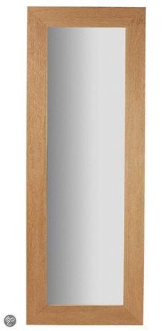 LaForma Vlad Pas - Spiegel - Hout - 158.5x58.5 cm - Naturel