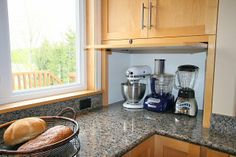 The appliance garage keeps counters clean and clutter free, everything ...