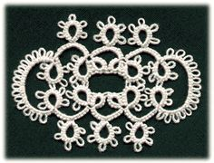 tatted lace pattern which was the inspiration for my last tribal belt