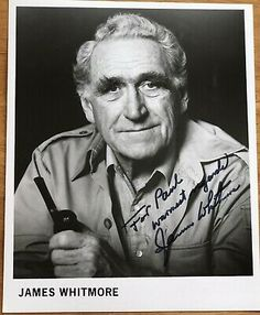 (Ad eBay Url) Actor James Whitmore Autographed Photo