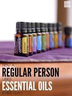 Ever wonder how a normal person uses essential oils in her daily life? Here is a snapshot of how essentials oils can work in the most normal of households. http://mydoterra.com/nicolelarossi