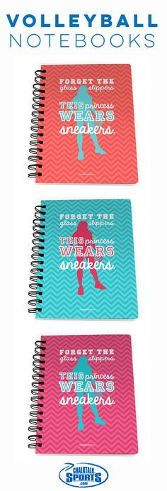 Our #volleyball notebooks are perfect for note taking, doodling, wish lists and…