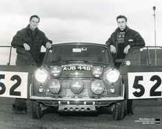 1965 MONTE CARLO RALLY - Mini Cooper 1275S. Drivers: Timo Makinen / Paul Easter. Place: 1st o/a.