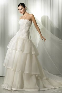 Pepe Botella Wedding Dresses 2012 | Wedding Inspirasi