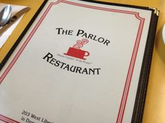 11. The Parlor Restaurant (Wooster)