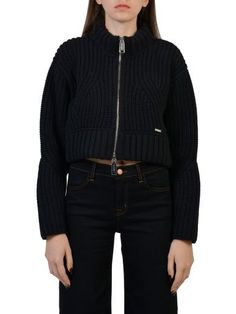 DSQUARED2 Dsquared2 Cropped Cardigan. #dsquared2 #cloth #sweaters