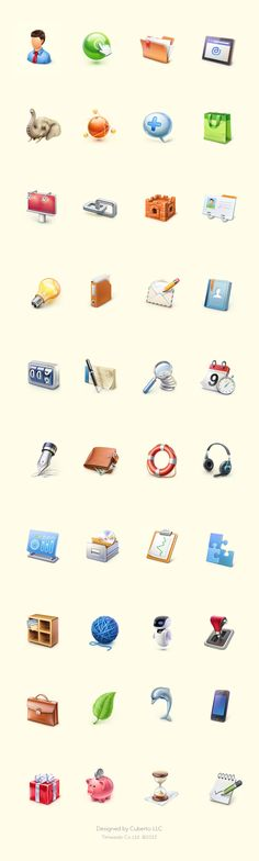 Icons by Cuberto (www.dribbble.com)