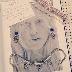 Primary Aztec Drop earrings + Warrior Triad Necklace = HonestlyWTF X  @BaubleBar via @LeFashion