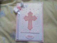 Girl's Christening Card