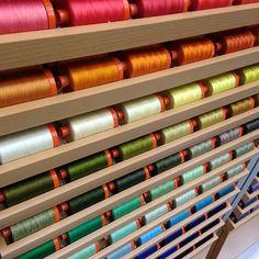 Simply #Aurifil threads. Display detail :-)