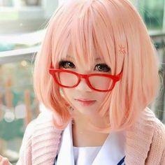 Mirai cosplay from Kyoukai no Kanata