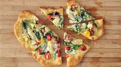 Rustic Springtime Vegetable Pizza Videos | How to's and ideas | Martha Stewart