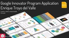 Nominación Google Innovator Enrique Troyo