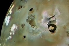 Window to hell: Io's strongest volcano changes face as we watch   New Scientist
