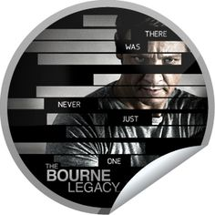 The Bourne Legacy Box Office Sticker