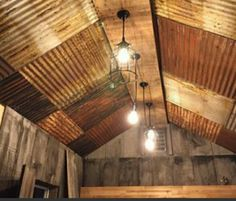 Drop Ceiling Tiles, Dropped Ceiling, Drop Ceiling Basement, Ceiling Lights, Ideas Cabaña, Silo House, Tiles Price, Barn House Plans, Metal Buildings