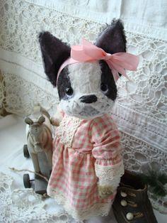 Boston Terrier   made to order by sonjkuznetsova on Etsy, $197.00