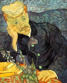 Vincent van Gogh, Portrait of Dr. Gachet, 1890, tuval üzerine yağlı boya, 67x56 cm