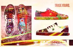 DC-TRASE-deconstructionalizm by Blair Kerr sponsored by DC Shoes