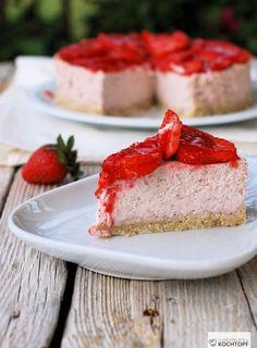 Steamed Erdbeer-Cheesecake 1