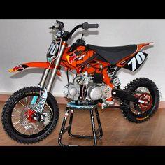 K-Roc's sick pit bike