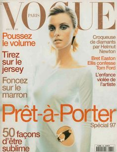 Trish Goff for Vogue Paris August 1997
