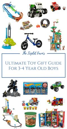 Toy Gift Guide For 3 4 Year Old Boys I Am Confident My Jase Would