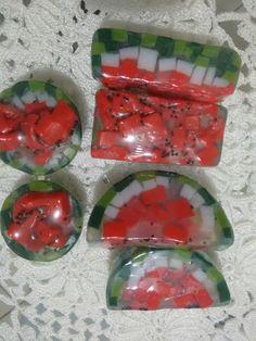 Sabonete em barra melancia