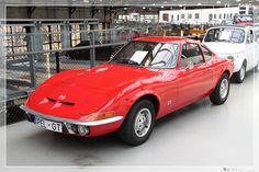 1968 - 1973 Opel GT