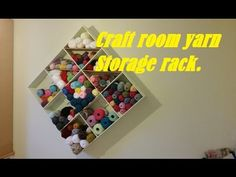 This week I was asked by the Boss to make a storage rack for her out of control yarn addiction. (like I'd be the same with wood! ;-) ) Neither my design, nor...