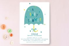 Rainbow Pop Baby Shower Invitations by Shirley Lin Schneider at minted.com