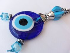 Your place to buy and sell all things handmade Greek Evil Eye, Personalized Items, Eyes, Unique Jewelry, Handmade Gifts, Vintage, Kid Craft Gifts, Craft Gifts, Costume Jewelry